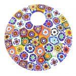 Millefiori Pendant - Murano Glass Jewelry