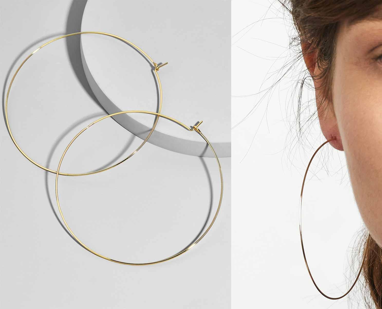 Patrice Hoop Earrings, Runway Jewelry Trends