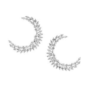 Penelope Cruz Atelier Swarovski Fine Jewelry Collection Luna Earrings