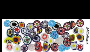 Millefiore Murrini Murano Glass